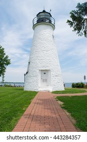 Large Lighthouse in Havre De Grace, Maryland