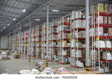 Large logistic center, large warehouse, depot