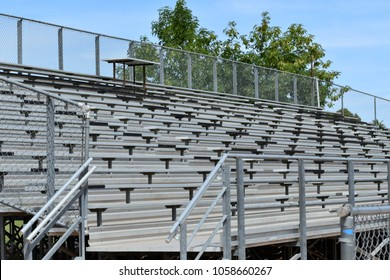 Large Metal Bleacher