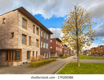 Large Modern Middle Class Terraced Houses in Europe
