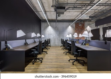 Large modern office with open space to work