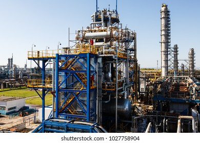 a large oil and gas refinery in Russia