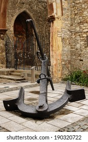 A Large Old Anchor