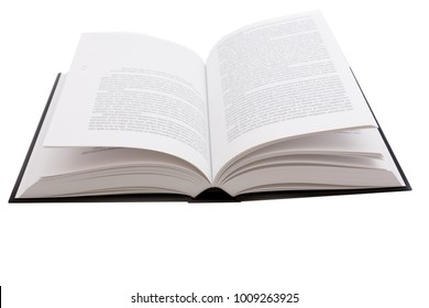 large opened book