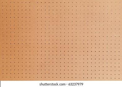 Large peg board