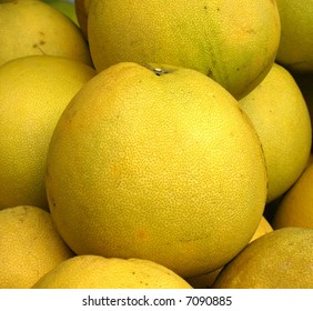 Large Pomelos -- they are also called Chinese grapefruit or shaddock