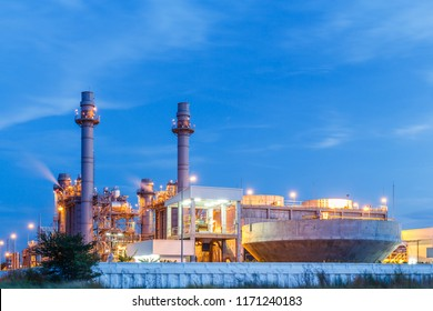 Large Power Plant in Eastern Thailand Industrial Zone