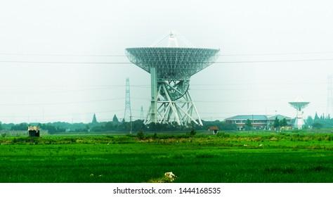 Large Radio telescope in Shanghai, China