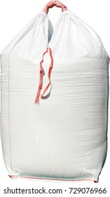 A large red big bag with a capacity of 100 kg