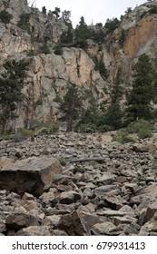 Large Rock Slide