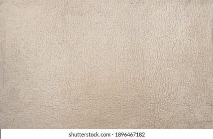 Large Sheepskin Bedspread, Light Texture