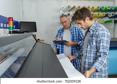 large size wide format professional printer