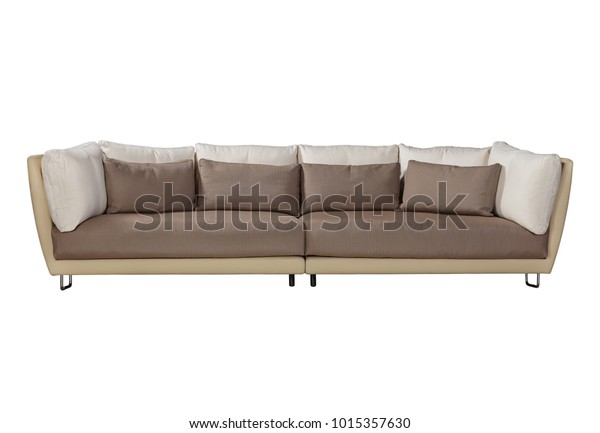 Large Sofa Cushions Scandinavian Style Stock Photo (Edit Now ...