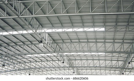 Large steel structure truss