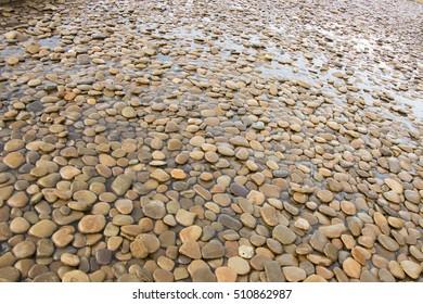 Large stones on the beach, Turkey