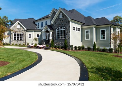 Large suburban house
