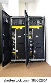 large uninterruptible Power Supply in data center(UPS)
