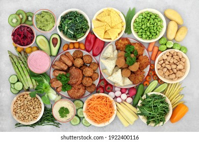 Large vegan health food collection  that helps lower cholesterol and  blood pressure. Healthy food  high in antioxidants, protein, omega 3, minerals, vitamins, anthocyanins an fibre.
