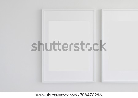 Large Vertical Picture Frame Mat On Stock Photo (Edit Now) 708476296 ...