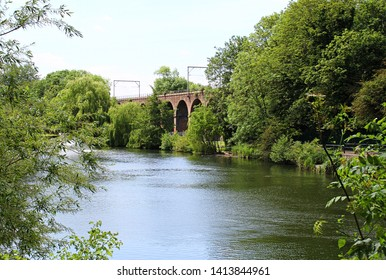 Large viaduct spans Chelmsford's Central Park in the city centre