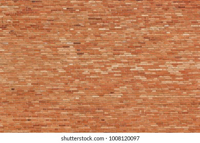 Large wall made of bricks