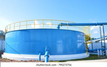 Large water tank storage for the customer
