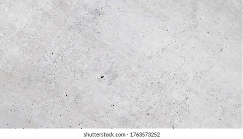 Large white gray concrete wall in grunge design. Weathered stone wall background in large format.