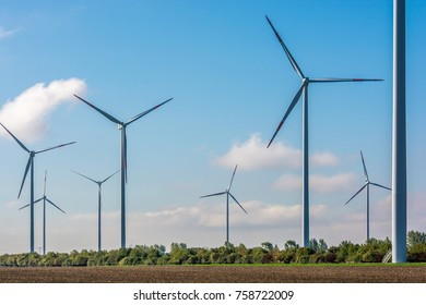 Large wind farm provides city with clean electricity