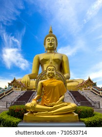 The largest Buddha in the world in Wat Muang