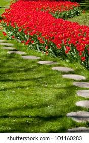 Largest flower garden in Europe