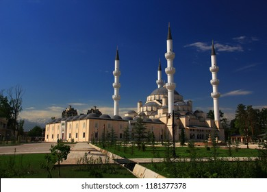 The largest mosque in Central Asia is Bishkek's New Сentral Mosque in Kyrgystan.