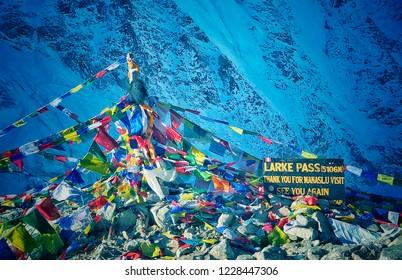 Larke Pass 5106m