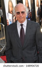 """Larry David at the Los Angeles premiere for his HBO film """"Clear History"""" at the Cinerama Dome, Hollywood. July 31, 2013  Los Angeles, CA"""