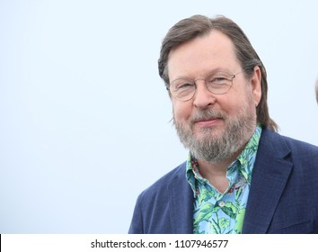 Lars von Trier attends 'The House That Jack Built' Photocall during the 71st annual Cannes Film Festival at Palais des Festivals on May 14, 2018 in Cannes, France.