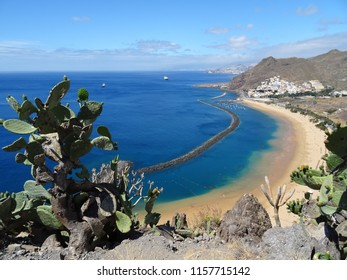 Las Americas Beach in Tenerife