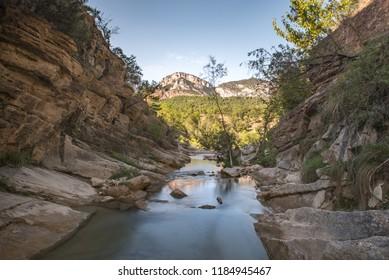 Las Balsas del Coll de Nargo, Atl Urgell, Lleida, Catalonia, Spain