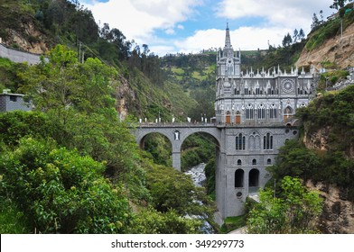 Las Lajas Church in South of Colombia.