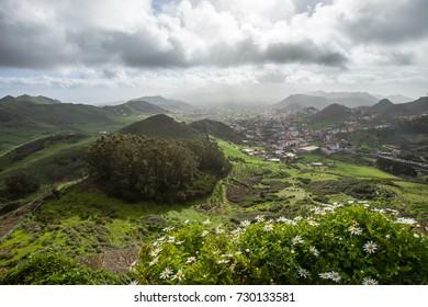 Las Mercedes, Tenerife. View from Mirador De Jardina.