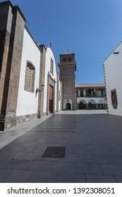 Las Palmas de Gran Canaria, Spain. May, 7 th 2019. Palacio de justicia, Vegueta.
