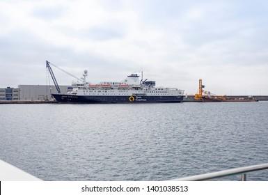 Las Palmas de Gran Canaria, Spain. May, 12 2019. Ocean endeavour