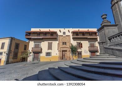 Las Palmas de Gran Canaria,Spain. May, 7 th 2019. Casa de colon.