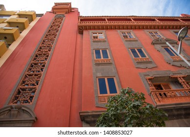 Las Palmas, Gran Canria , Spain - 31 December , 2017. Beautifully decorated apartments in the city Las Palmas, Canary Island.