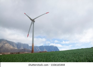 Gáldar, Las Palmas, Spain, 30-05-2018 wind power