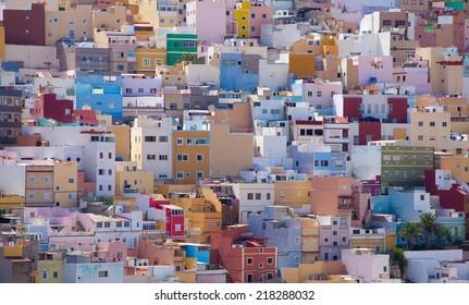 Las Plamas de Gran Canaria, Ciudad Alta, High City