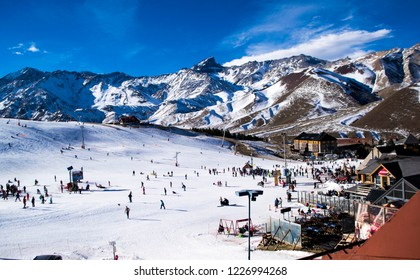 Las Leñas ski resort, Argentina