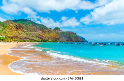 Las teresitas beach, Tenerife, Canary Islands, Spain.