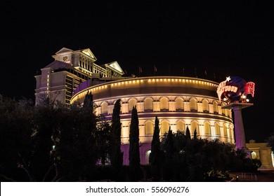 LAS VEGAS - 2014, JUNE, 18:  Colosseum theatre at Caesars Palance in Las Vegas, Nevada, USA