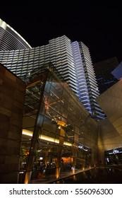 LAS VEGAS - 2014, JUNE, 18:  The Aria Hotel in Las Vegas, Nevada, USA