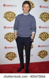 LAS VEGAS - APR 12: Eddie Redmayne at the Warner Bros. Pictures Presentation during CinemaCon at Caesars Palace on April 12, 2016 in Las Vegas, Nevada