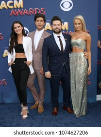 LAS VEGAS - APR 15:  Dan + Shay, Dan Smyers, Shay Mooney, Guests at the Academy of Country Music Awards 2018 at MGM Grand Garden Arena on April 15, 2018 in Las Vegas, NV